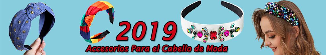 2019 Accesorios Para el Cabello de Moda